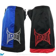 Tapout Mma Bloody Black Blue Swim Trunks 34 Gym Exercise Board Shorts Epo35-213