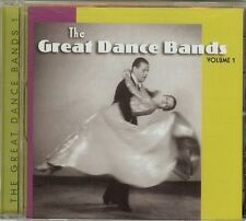 THE GREAT DANCE BANDS, VOL. 1 - NEW CD