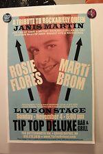 ROSIE FLORES/MARTI BROM GR MI 2012 CONCERT POSTER rockabilly Janis Martin