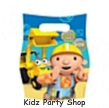 Bob The Builder Birthday Party - 6 Loot Bags - Free Post in Uk