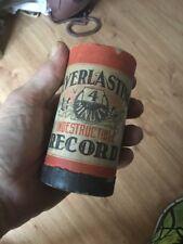 Rare Banjo Solo, Down South Ossman Indestructible Record Cylinder Edison