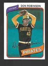 1980 Topps #719 Don Robinson Pittsburg Pirates VG-EX