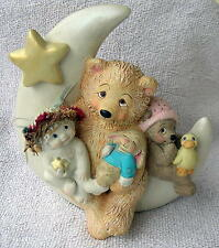 Large Vintage 2000 Dreamsicles Figurine #11405 Dream Time Bears