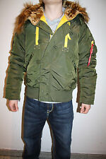 Alpha Industries PPS N2B Chaqueta Bomber Piloto Verde Oscuro NUEVO 133147/257
