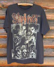 Vintage Slipknot Black T-Shirt Official Very Nice Rock Band +