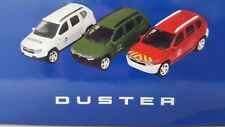 """Norev - Lot de 3 Dacia Duster différents (1/54 - 3"""") - Neuf"""