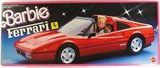 Barbie Red Ferrari Car (NEW)