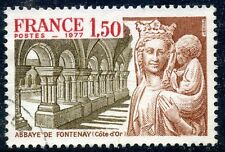 STAMP / TIMBRE FRANCE OBLITERE N° 1938  ABBAYE DE FONTENAY
