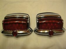 6 VOLT POSITIVE + GROUND Vintage Style 1946,1947,1948 PLYMOUTH LED Tail Lights 2