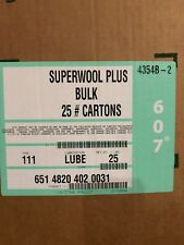 Superwool Plus Bulk Fibre Body Soluble Blanket approx 11 kg box Lubricated