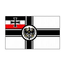 Fahne Flagge Deutsches Reich - Reichskriegsflagge / Marine 150 x 250 cm - XXL