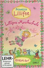 PC CD-ROM + PC-Spiel + Prinzessin Lillifee + Lillifees Musikschule + Musik +