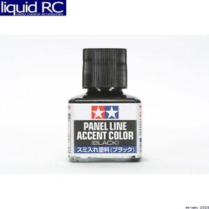Tamiya USA TAM87131 Panel Line Accent Color 40ml Black