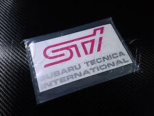 (2X) Subaru STI Tecnica International Fog Lamp Cover Vinyl Decals Stickers