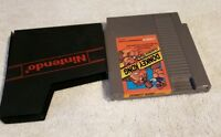 DONKEY KONG CLASSICS NES NINTENDO VIDEO GAME CART AUTHENTIC NICE LABEL