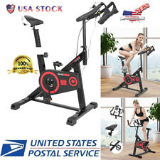 Exercise Bike Home Bicycle Indoor Cardio Cycling Fitness Workout Sports LCD Gym