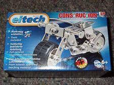 Eitech Motorbike C59 Construction Building Toy Metal Steel Kit Model