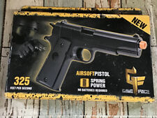 "Game Face Stinger P311 Airsoft Pistol Black 325 FPS Spring Power ""Read"""