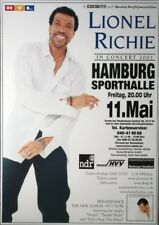 RICHIE, LIONEL - COMMODORES - 2001 - Konzertplakat - Tourposter - Hamburg