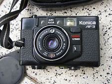 Cámara camera-Konica af 3-negro