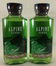 2 Alpine Suede 2 In 1 Hair & Body Wash Bath & Body Works 10 Oz