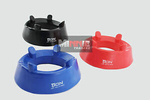 Standard Rugby kicking Tee Rugby Union / League 3-colours red black blue