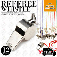 Referee Wistle Whistle With Key Ring Sports School Football Rugby Play Whistle