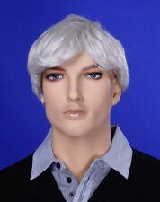 JI DISPLAY Männer Perücke Wig JM-W04 für Mann Mannequin Schaufensterpuppe