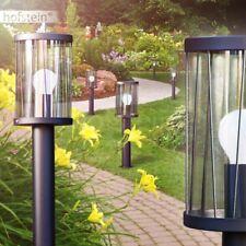 Außen Steh Lampen Leuchten Garten Wege Poller Laterne Beleuchtung rostfarben