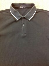 men's FRED PERRY Medium Navy Blue Polo Shirt. Great Condition