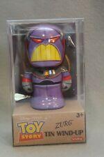 Toy Story Zurg Tin Wind-Up Metal Action Figure Disney Pixar Movie NEW NIB