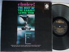 RAMSEY LEWIS TRIO Choice! Best Of UK CHESS 1966 MONO A1/B1 LP GOLD 1st SOUL FUNK