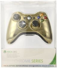 Official Xbox 360 Wireless Controller - Gold Chrome Special Edition