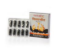 20 Capsules Pure Shilajeet From Patanjali Ayurveda For Strength Stamina Vitality