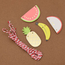 Party Fruits Garland Banners Hanging Paper Birthday Home Decor Supplies 1 Set