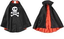 NWT Gymboree Pirate Cape Black/Orange Sz: M/L 7-12 NEW