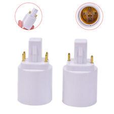 G24 To E27 Lamp Holder Converters Light Bulb Base Socket Halogen Lamp Converter