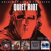 QUIET RIOT - ORIGINAL ALBUM CLASSICS 5 CD NEW!