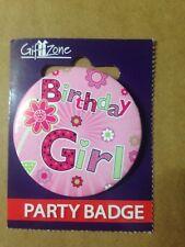 Birthday Celebration Party Badge Birthday Girl  ,,