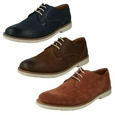 Suede Lace-up Pointed Shoes for Men