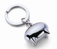 NEW Keychain Piggy Pig Animal Model Metal Key Ring Keyfob Cool Gifts