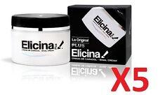 Set of 5pcs ELICINA PLUS SNAIL CREAM CREMA DE CARACOL 40G #da