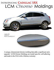 BODY SIDE MOLDINGS Lower CHROME Trim Mouldings For: CADILLAC SRX  2010-2016