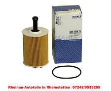 Ölfilter MAHLE Original OX388D-NEU-AUDI A1 (8X1),Sportback (8XA) 1.6 TDI,2.0 TDI