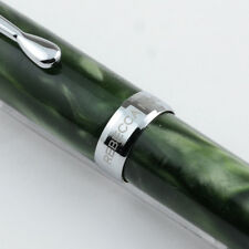 Rebecca Moss Green Marble Resin Rollerball Pen