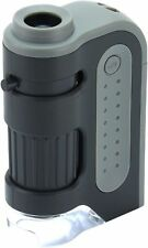 Carson MicroBrite Plus 60-120x LED Lighted Pocket Microscope #MM-300 (UK Stock)