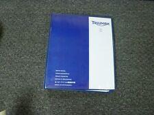 2004-2006 Triumph Tiger 955i Motorcycle Shop Service Repair Manual 2005