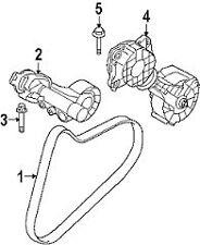 Alternator Water Pump Belt Genuine Mini R56 Cooper, S, JCW 11287566789 6PK905
