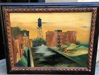 Simeon Braguin 1933,oil painting, 18 x 25 canvas