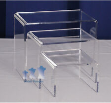 Ms9 - Mannequin Stand, Acrylic Riser Set, Medium